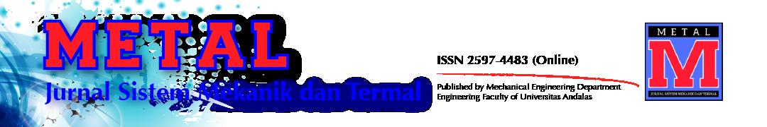 METAL: Jurnal Sistem Mekanik dan Termal